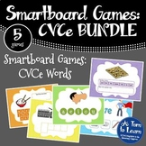 Super E / CVCe BUNDLE of 5 Smartboard or Promethean Board Games!
