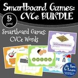 Super E / CVCe BUNDLE of 5 Smartboard or Promethean Board Games!