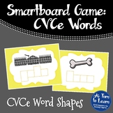 Super E / CVCe Word Shapes Game (Smartboard or Promethean Board)