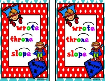 Super E: read-aloud and student readers
