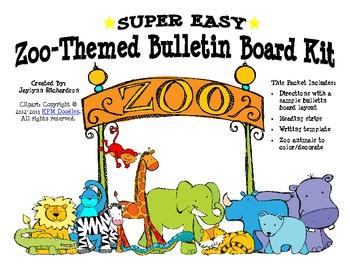 Super Easy Zoo-Themed Bulletin Board Kit