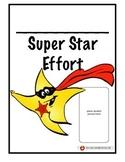 Super Effort Poster and Reward Cards