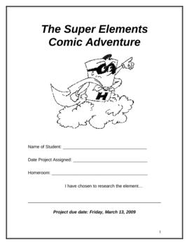 Super Elements Project Booklet