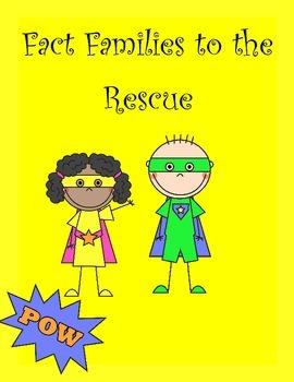 Fact Family Fun Packet