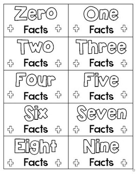 Super Facts Addition Fluency