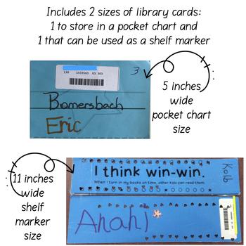 Super Fantastic Shelf Marker Rewards Punch Library Cards