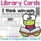 Super Fantastic Shelf Marker Rewards Punch Library Cards