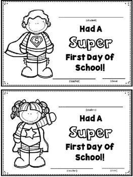 Super First Day Of School Editable Freebie