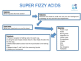 Super Fizzy Acids Lab