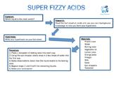 Super Fizzy Acids Lab