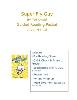 Super Fly Guy: Guided Reading Packet