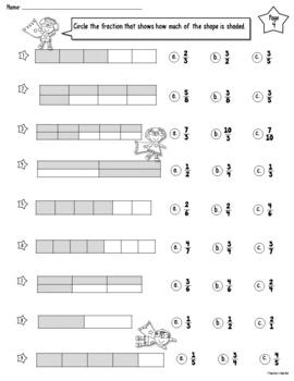 Super Fraction Worksheets