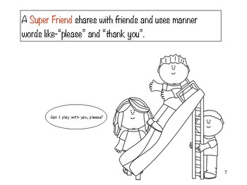 Super Friend Scripted Story