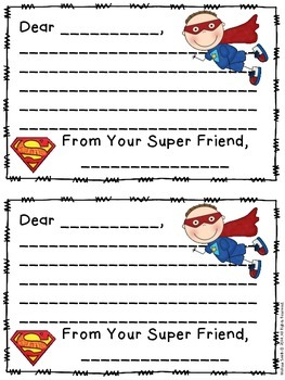 Super Friend Writing Center