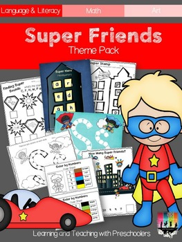 Super Friends Theme Pack