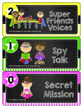 Super Friends Voice Level