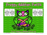 Super Frog Math Fact Wheels {+3, +4, +5, +6, +7, +8}