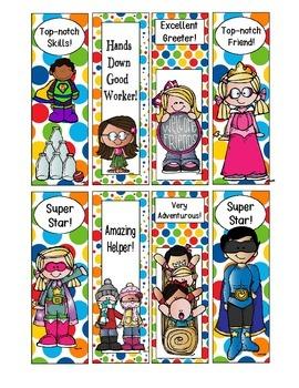 Super Fun Bookmark Awards