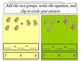 Super Fun Math Activity Packet with a St. Patrick's Day theme!