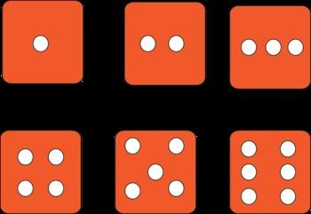 Super Fun Multi-Colored Dice for math or games!