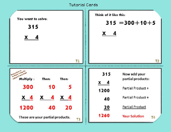 Super-Fun Multiplication Task Cards (3-Digits x 1-Digit)