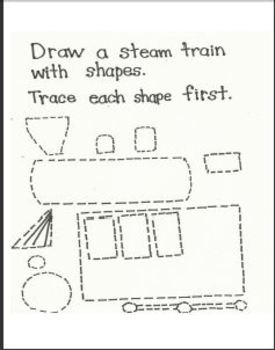 Super Fun Train Art Activities