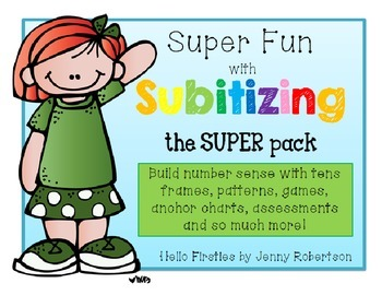 Super Fun with Subitizing the Super Pack