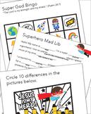 Super God! Activity Booklet for Kids