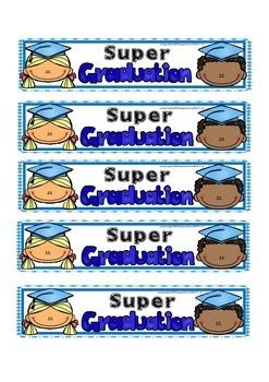 Super Graduation Bookmarks (FREEBIE)