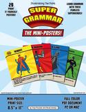 Super Grammar Mini Posters