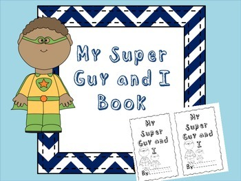Super Guy Father's Day Book
