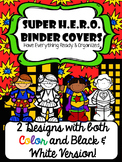 Super H.E.R.O Binder Cover