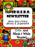 Super H.E.R.O. Newsletter Template