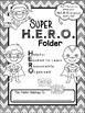 Super H.E.R.O. folder binder cover