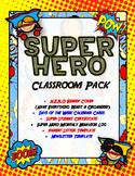 Super H.E.R.O. Binder Cover, Behavior Log, Newsletter, Parent Letter & More!