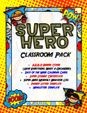 Super H.E.R.O. Binder Cover, Behavior Log, Newsletter, Parent Letter & More!
