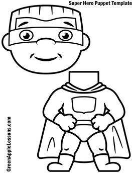 Superhero Craft | Super Hero Craft | Superhero Craftivity