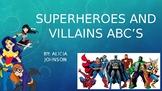 Super Hero ABC Book