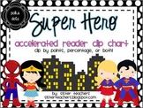 Super Hero Accelerated Reader Clip Chart *polka dots*