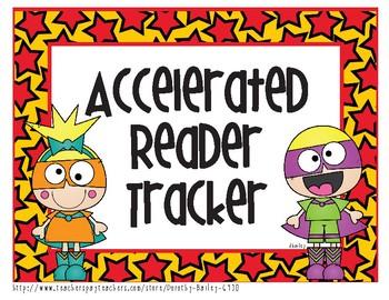 Super Hero Accelerated Reader Tracker
