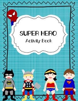 Super Hero Activity Book