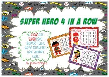 Super Hero Addition Game