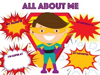 Super Hero - All About Me