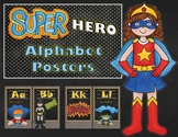 Super Hero Alphabet Cards