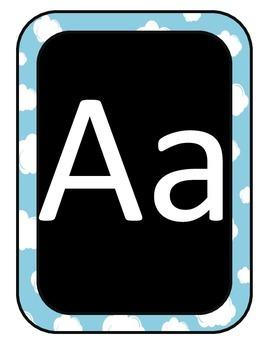 Super Hero Alphabet Line Letters
