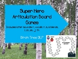 Super Hero Articulation Board Game