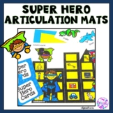 Super Hero Articulation Smash Mats (K, G, F, V, Sh, Ch, Th, R, S and L)