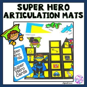 Super Hero Articulation Smash Mats (K, G, F, V, Sh, Ch, Th