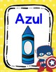 Super Hero Avengers Theme- Color Posters in Spanish