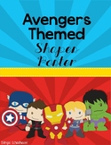 Super Hero Avengers Theme- Shape Posters